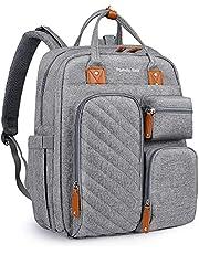 Pomelo Best Plecak do przewijania plecak ze zdejmowaną nakładką do przewijania i mocowaniem wózka, duża torba dla niemowląt do zastosowania w podróży