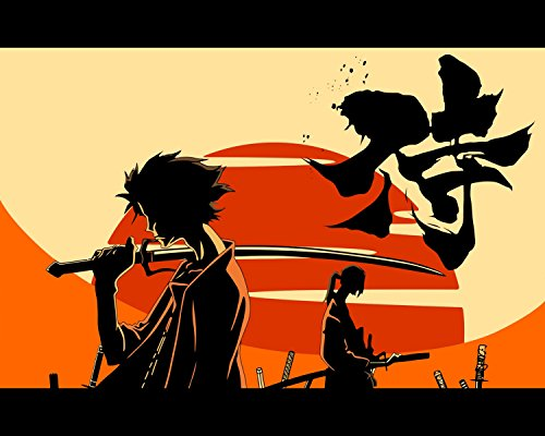 Samurai Champloo Poster Anime Japanese Wall Art Home Decor Promo 16x20 Inches