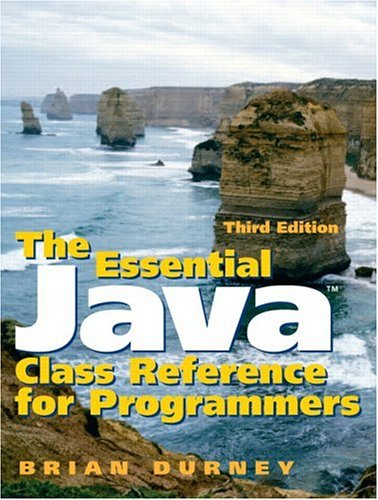 The Essential Java Class Reference for Programmers (3rd Edition) by Pearson
