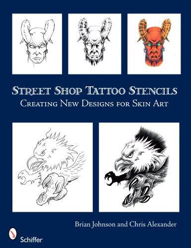 Street Shop Tattoo Stencils: Creating New Designs for Skin Art