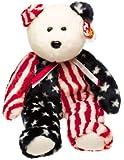 Ty Beanie Buddies - Spangle the American Bear