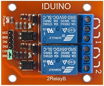 2 Channel Dc 5v Relay Module For Arduino Uno R3 Mega 2560 1280 Dsp