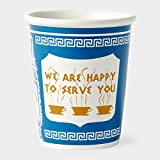 "Exceptionlab Inc. 10-Ounce Ceramic Cup ""We are happy to serve you"""
