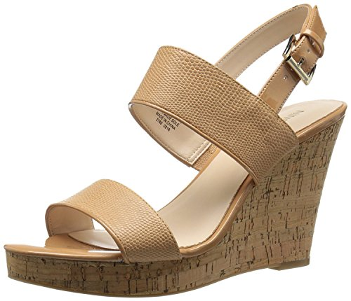 Pompe À Cale Synthetic Nine West Womens Lucini, Naturel / Naturel, 41.5 B (m) Eu / 8.5 B (m) Uk