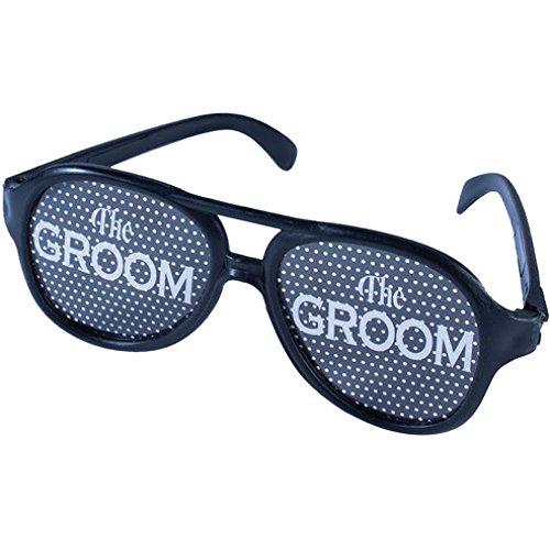 Forum Novelties Bachelor Glasses One Size Black product image