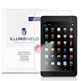 iLLumiShield - Dell Venue 8 Screen Protector Ultra Clear HD Film with Anti-Bubble and Anti-Fingerprint - High Quality Invisible LCD Shield - Lifetime Replacement Warranty - [2-Pack] (Venue 8 2014)