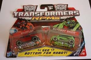 Transformers Rpm's Mudflap Vs. Autobot Skids Battle Series 4 of 8