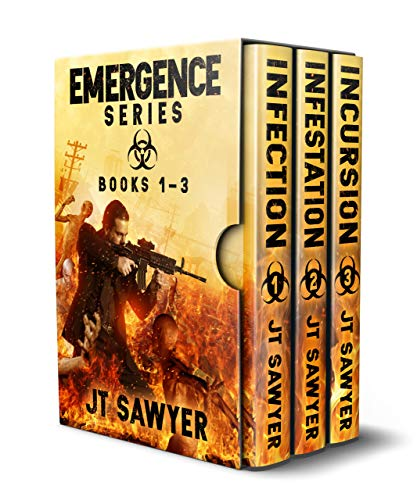 Emergence Series (Books 1-3), A Post-Apocalyptic Thriller by [Sawyer, JT]