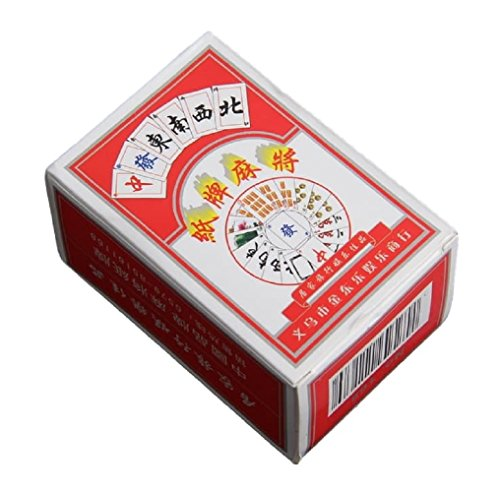 (シュガーポート)SUGAR PORT 麻雀 カード ゲーム ポータブル トランプ サイズ 麻将 紙牌 中国麻雀