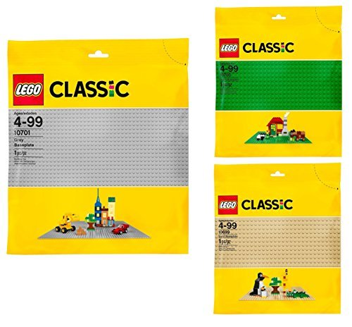 LEGO Classic Baseplate Bundle (3-Pack)