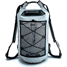 ZBRO Waterproof Dry Bag with 2 Pockets, Padded Straps and Reflective Stripe