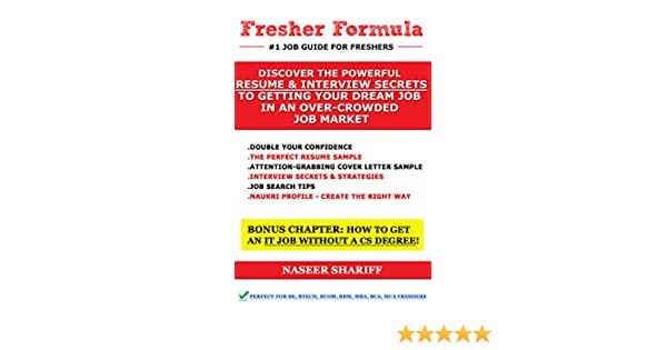 amazon com fresher formula discover the powerful resume and