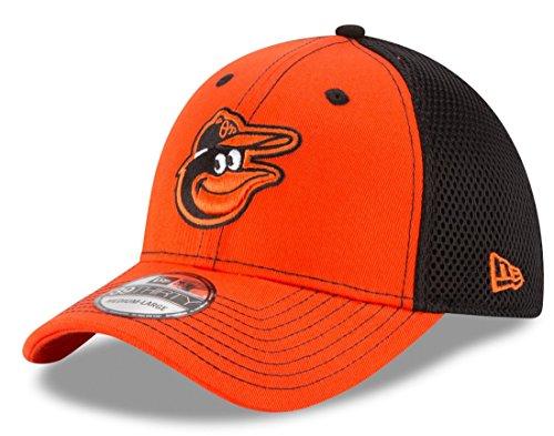 Baltimore Orioles New Era MLB 39THIRTY Team Front Neo Flex Fit Hat