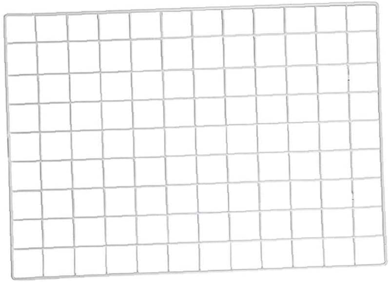 IUwnHceE 1pcs Cuadrícula Imagen De Pared Rejilla De La Pared Decorativos De Hierro En Rack De Clip Art Display Multifuncional Ins Photo Display Pared del Organizador del Almacenaje Blanca