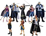 Bandai Tamashii Nations One-Piece Law's Ambition Chozokei Tamashii Action Figure (Set of 8)