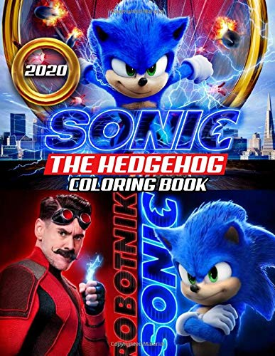 Sonic The Hedgehog Coloring Book