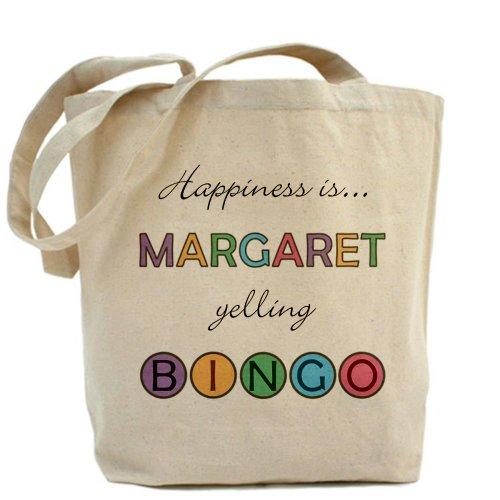 CafePress–Margaret Bingo–Gamuza de bolsa de lona bolsa, bolsa de la compra