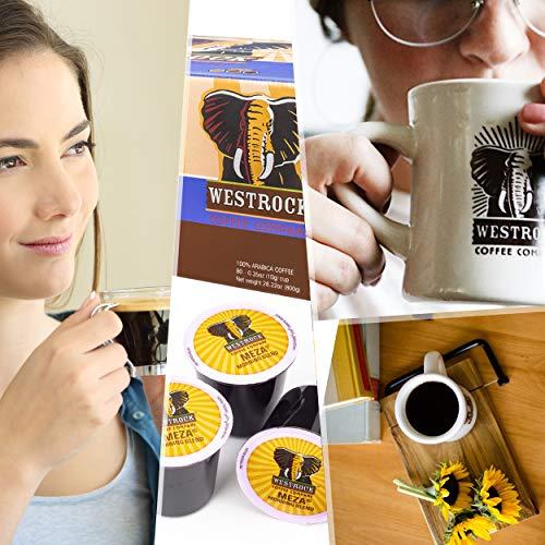 Westrock Coffee Company Meza Morning Blend Best Medium Roast Gourmet Single Serve Cup 80 Count by Westrock Coffee Company (Image #3)