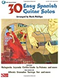 30 Easy Spanish Guitar Solos: Guitar With Tablature
