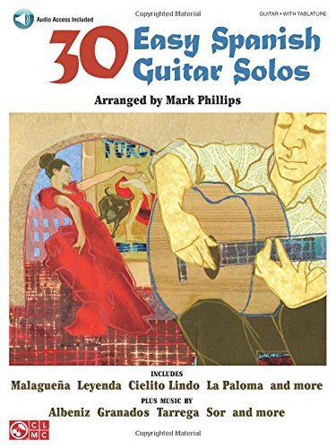 30 Easy Spanish Guitar Solos - Flamenco Guitar Sheet Music