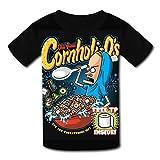 Custom Kids Cornholi-Os Tee Shirt T-Shirt for Children Boys Girls M