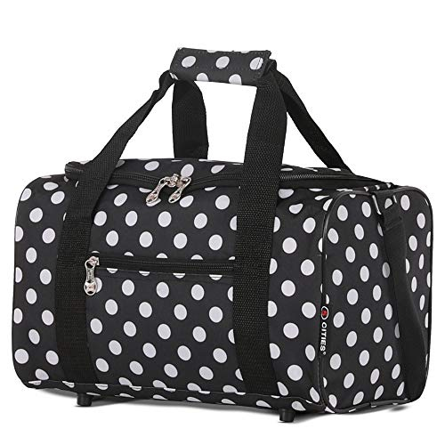 5 Cities 35x20x20 Maximum Ryanair Cabin Hand Luggage Holdall Flight Bag ( Navy). by 5 cities. Colour Name  Navy ecdbfa012d