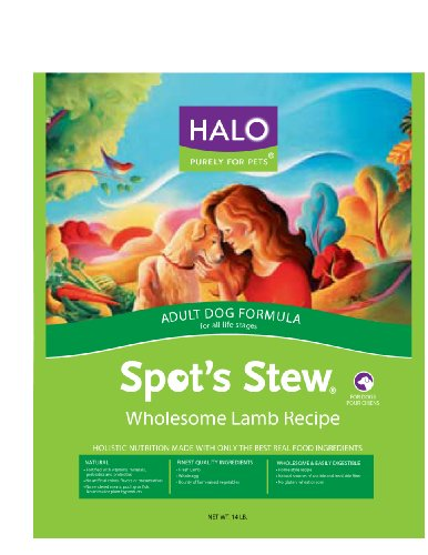 Halo Spot's Stew® Adult Dog, Lamb Recipe, 14-Pounds, My Pet Supplies