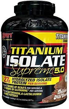 San Titanium Isolate Supreme 5.0 (5lbs) 1 unidad 2280 g ...