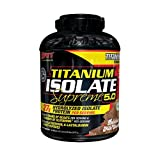 SAN Nutrition Titanium Isolate Supreme Whey Isolate Protein Powder, Milk Chocolate Delight, 5 Pounds For Sale