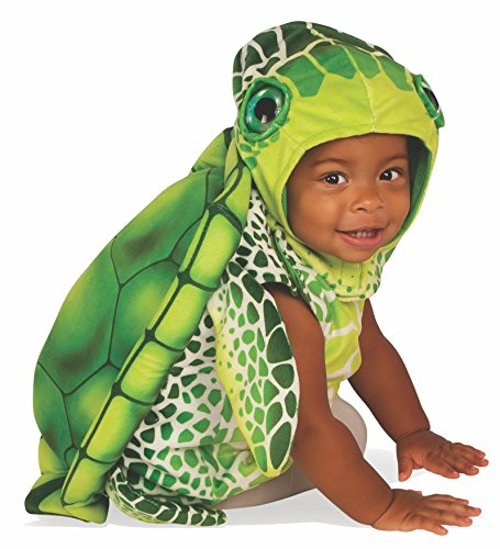 Rubie's Baby Turtle Costume, Multicolor, Infant -