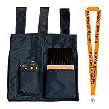 Champion Sports Umpire Kit Black Bundle with 1 Performall Lanyard UMKT-1P