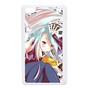 iPod Touch 4 Case White No Game No Life 005 JSY4229218KSL