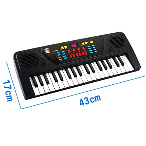 Leewos 31 Keys Digital Music Electronic Piano Easy to Learn Keyboard Suitable for 2 to 5 Years Old Kids