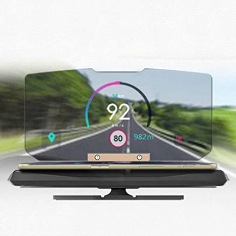 Amazon.com: Head Up - Soporte de pantalla HUD para coche ...