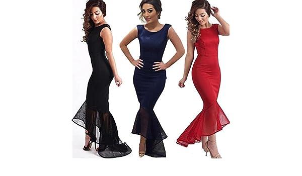 Cocktail Prom Dresses donne convenzionali lungo abito di sfera damigella donore abito da sera: Amazon.es: Hogar