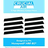 8 High Quality Honeywell Carbon Filters, Fits Most Honeywell Towers and Tabletops, HHT-08X, HHT-090, HPA-X50, HHT-X55, HHT-14X, and More, 16200 and Vicks V9071, Compare To Part no. HRF-B2, by Think Crucial