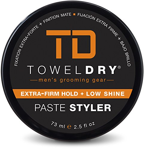 Towel Dry Paste Styler for Men, 2.5 - Dry Hair Paste