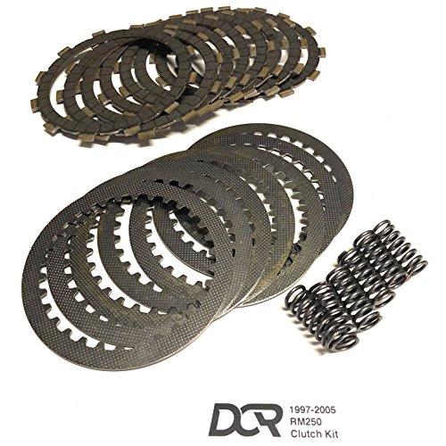 1997-2005 Suzuki RM250 RM 250 Heavy Duty DCR Clutch Kit Plates Steels Springs