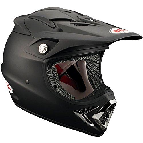 Bell Solid Adult Moto-8 Off-Road Racing Motorcycle Helmet - Matte Black / X-Large