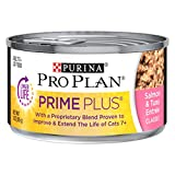 Cheap Purina Pro Plan Prime Plus Salmon & Tuna Entree Adult 7+ Wet Cat Food – (24) 3 Oz. Pull-Top Cans