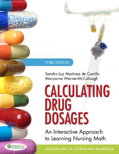 Calculating Drug Dosages Workbook+Cd