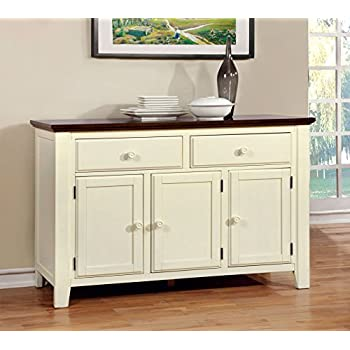 Furniture of America Pauline Cottage Style Dining Buffet Server