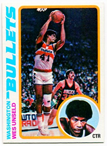 (1978/79 Topps Wes Unseld Card #7 Washington Bullets Louisville)
