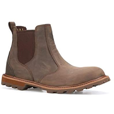 540edeebb3f1cd Muck Boots Chelsea Mens Waterproof Leather Ankle Boots Brown: Amazon ...