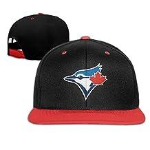 Toronto Blue Jays Baseball Team Logo Contrast Color Hip-hop Baseball Caps RoyalBlue (5 Colors)