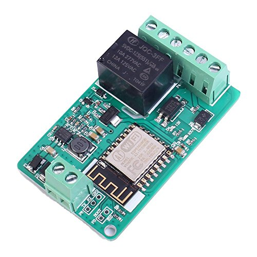 WINGONEER ESP8266 220V 10A DC 7-30V Network Relay WIFI Module