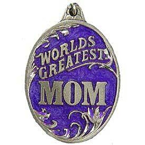 LV Greatest Mom Key Ring