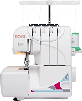 Janome MOD-8933 Serger with Lay-in Threading
