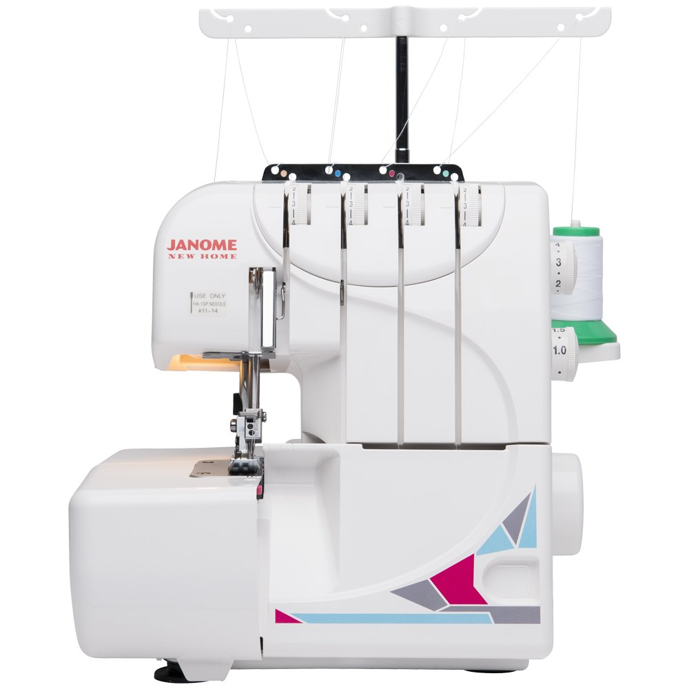 Amazon.com: Janome MOD-8933 Serger with Lay-in Threading, 3 and 4 Thread  Convertible with Differential Feed: Arts, Crafts & Sewing