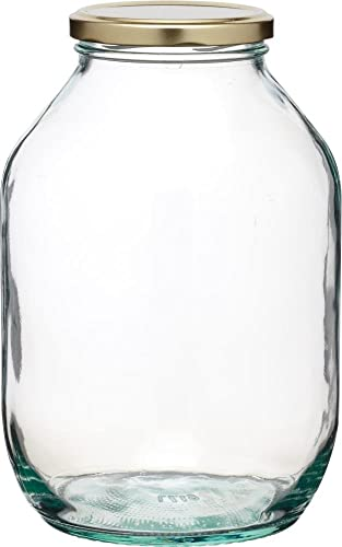 KitchenCraft Home Made 2.25 Litre Traditional Glass Pickling Jar